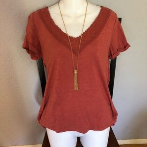 Anthropologie Meadow Rue Top/Blouse Size Med